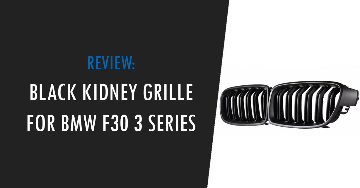 bmw f30 black kidney grille