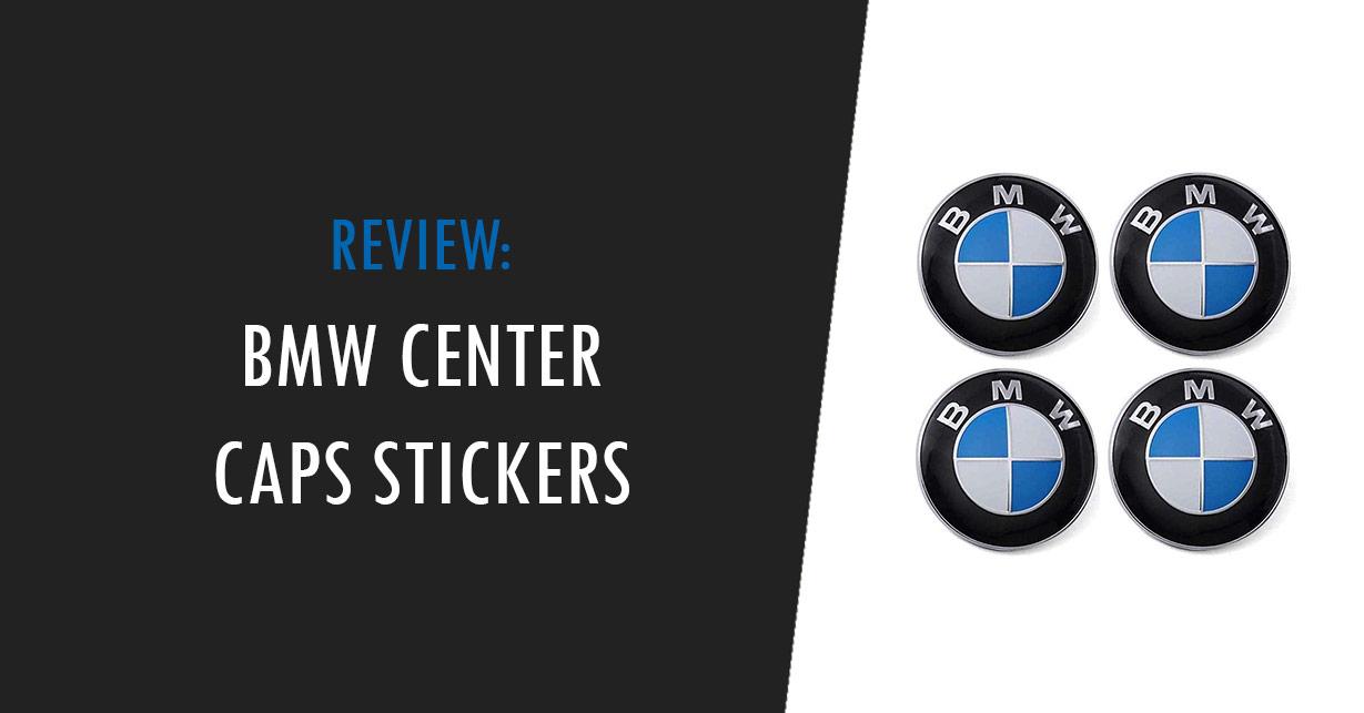 bmw center caps stickers