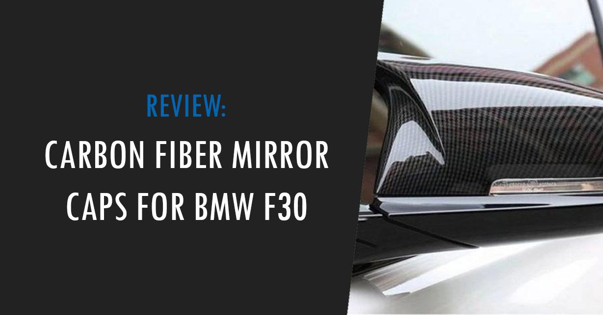 bmw f30 carbon fiber mirror caps