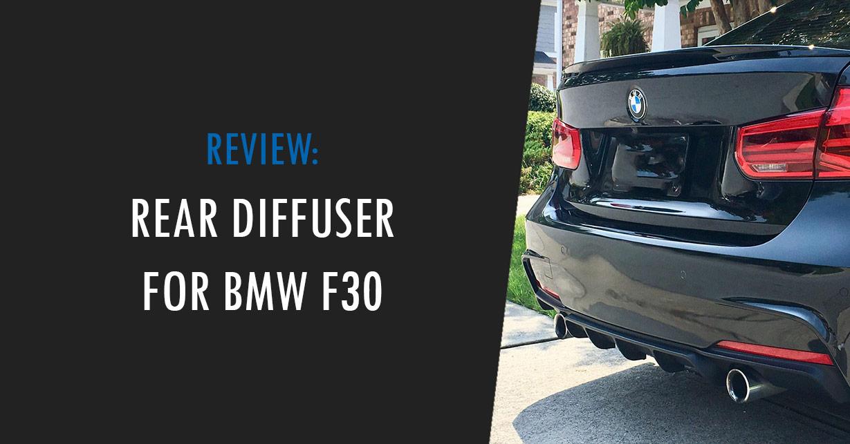 bmw f30 rear diffuser