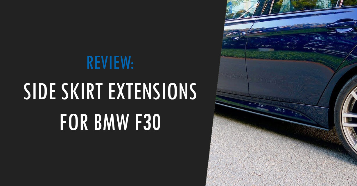 bmw f30 side skirt extensions