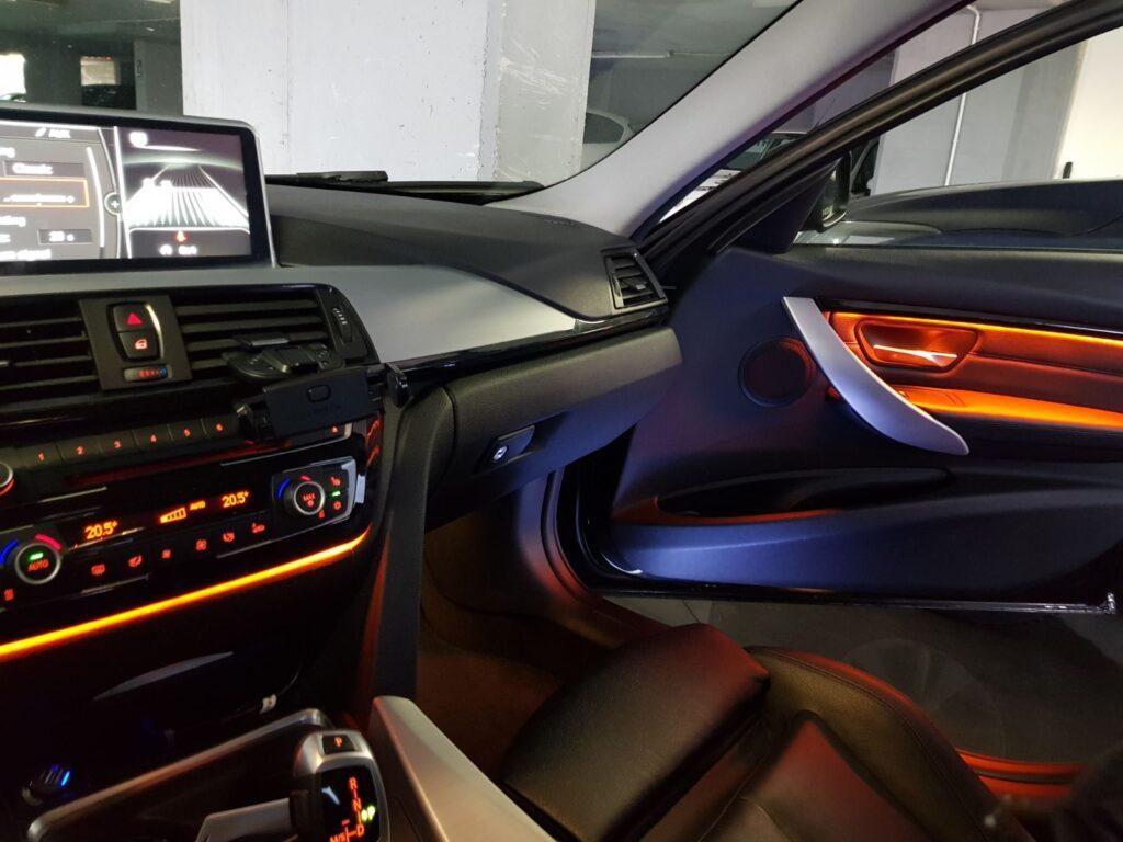 f30 interior door ambient light upgraded