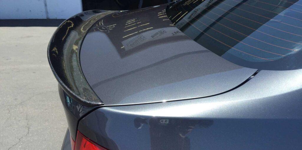 bmw f30 rear spoiler installation