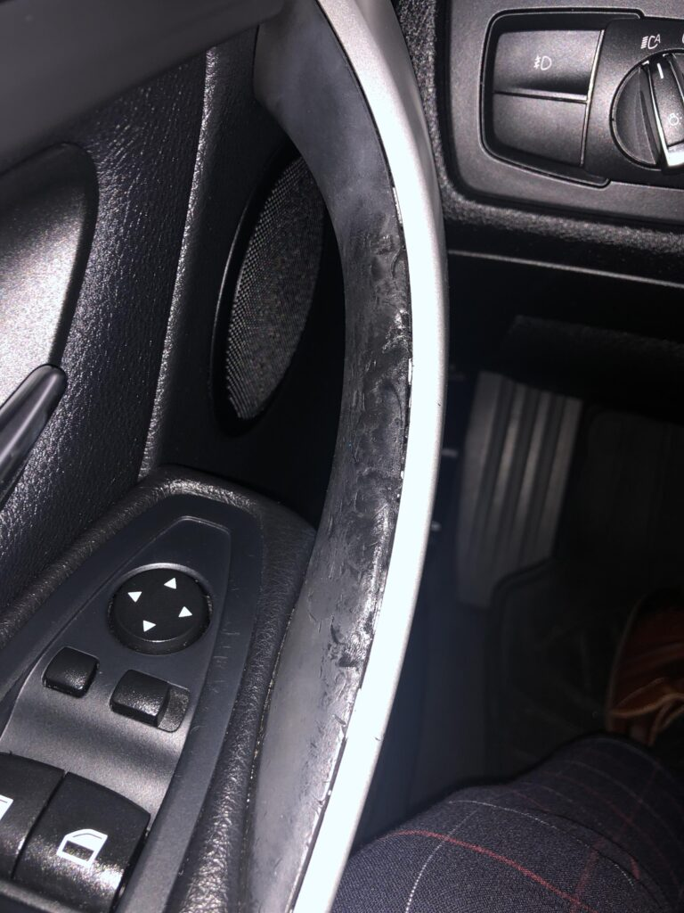 f30 f32 melting door handle