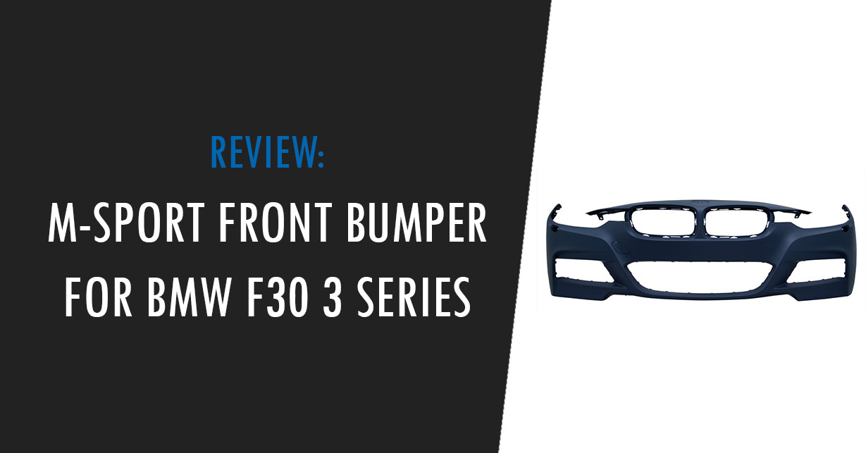 bmw f30 m sport front bumper