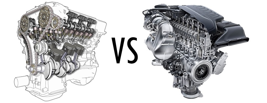 v6 compared to inline-6